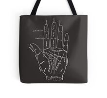 Chart of the Hand - fortune-telling Tote Bag