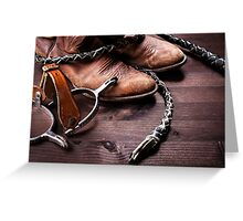 Acs Cowboy Greeting Card