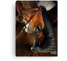 Ridding Canvas Print