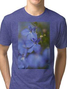 blue lobelia Tri-blend T-Shirt
