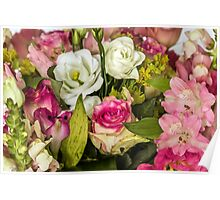 Many colored flowers Poster