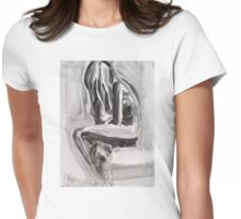 Little Mermaid Womens Fitted T-Shirt