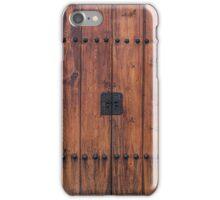 Door and Texture of Bukchon Hanok Village iPhone Case/Skin