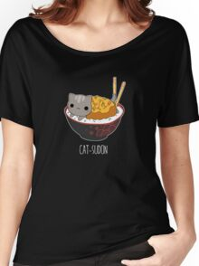 Catsudon Women's Relaxed Fit T-Shirt