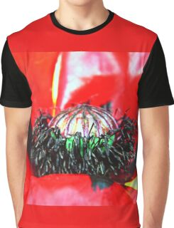 Red Poppy (2) Graphic T-Shirt