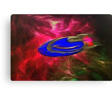 A Plasma (antimatter) Drive Solar System Cruiser Canvas Print