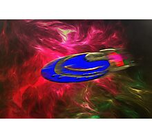 A Plasma (antimatter) Drive Solar System Cruiser Photographic Print