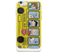 Snoopy Bus  iPhone Case/Skin