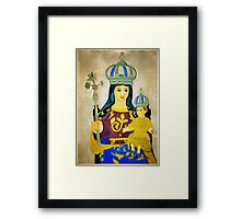 Our Lady of Europa, Gibraltar Framed Print