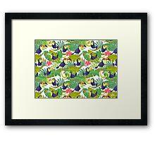 Toucan Paradise Framed Print