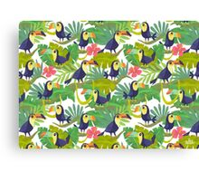 Toucan Paradise Canvas Print