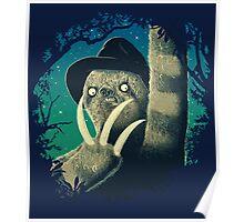 Sloth Freddy Poster