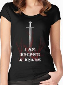 Blade Women's Fitted Scoop T-Shirt
