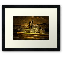 An old style digital painting of The Robert E Lee Framed Print