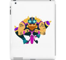 Glamourous biker on tricycle iPad Case/Skin