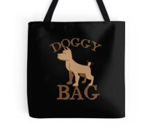 Doggy bag dog dogs with cute puppy Tote Bag