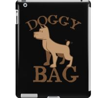 Doggy bag dog dogs with cute puppy iPad Case/Skin
