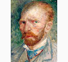 1887-Vincent van Gogh-Self-portrait-24x32 Unisex T-Shirt