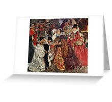 John Byam Liston Shaw - Queen Mary Greeting Card