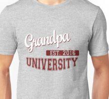 Grandpa University Established 2016 Unisex T-Shirt