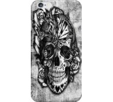 Sugar and Spice grunge candy skull iPhone Case/Skin