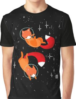 Space Foxes Graphic T-Shirt