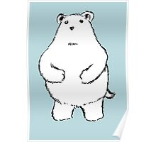 Shy Bear. Poster