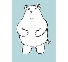 Shy Bear. Photographic Print