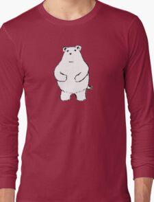 Shy Bear. Long Sleeve T-Shirt