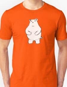 Shy Bear. Unisex T-Shirt