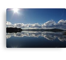 Mirror Image at St Helens Canvas Print