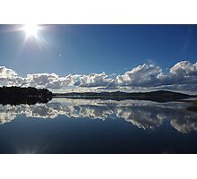 Mirror Image at St Helens Photographic Print