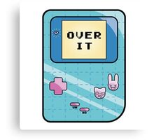 Over It Canvas Print