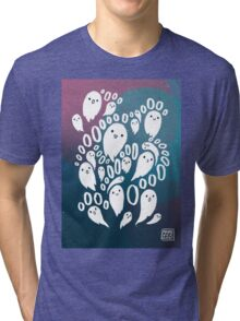 Spooky Ghosties Tri-blend T-Shirt