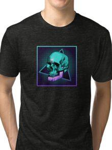 Sci-fi Skull Tri-blend T-Shirt