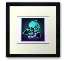 Sci-fi Skull Framed Print