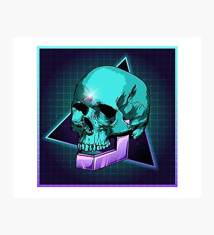 Sci-fi Skull Photographic Print