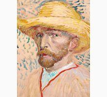 1887-Vincent van Gogh-Self-portrait-32,9x40,8 Unisex T-Shirt