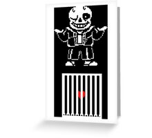 Broken Pixel - Murder's Mercy Greeting Card