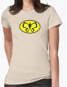 Monarch to the Rescue? Womens Fitted T-Shirt