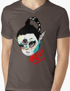 Grimes  Mens V-Neck T-Shirt