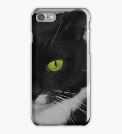 These eyes selective colour  iPhone Case/Skin
