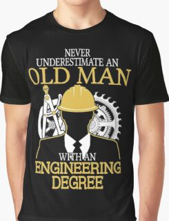 Never Underestimate An Withan Engineering Graphic T-Shirt