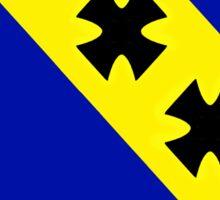"7th Bomb Wing Emblem ""Mors Ab Alto"" Sticker"