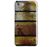 Shadows and Wood #3 iPhone Case/Skin