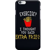 iPhone Case Funny Quote Foods iPhone Case/Skin