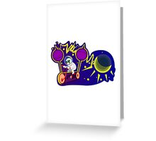 Lightning generator Greeting Card