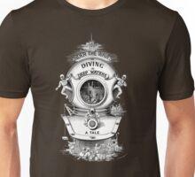 Under waves - vintage illustration Unisex T-Shirt