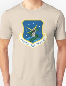"""91th Missile Wing """"Poised for Peace"""" T-Shirt"""