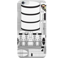 Organic engine iPhone Case/Skin